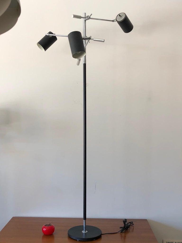 Petite Triennale Style Floor Lamp For Sale 2