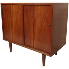 Petite Walnut Cabinet
