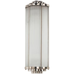 Petitot Art Deco Sconce
