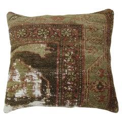 Petitte Malayer Distressed Rug Pillow
