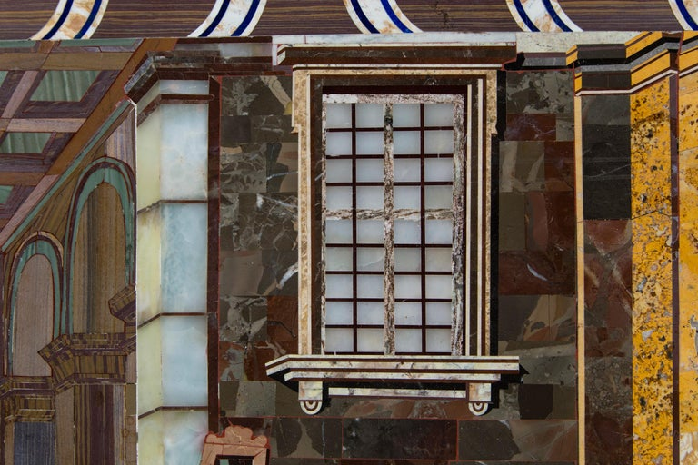 Petra Dura Plaque, The Artist's Studio For Sale 3