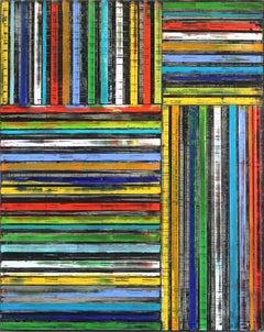 Stripes In Rainbow