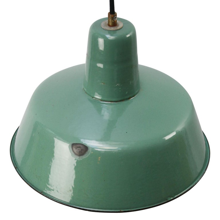Vintage Industrial pendant.
