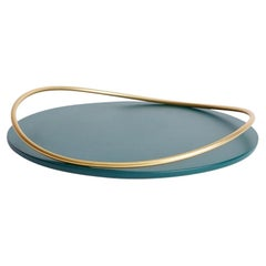 Petrol Green Touché a Tray by Mason Editions