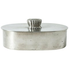 Pewter Box from GAB, Sweden, 1930s