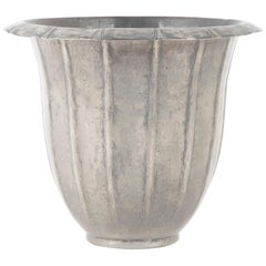 Pewter Handmade Vase by Georges Capon
