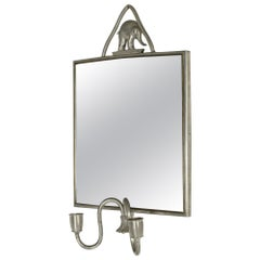 Pewter Mirror by Estrid Ericson for Svenskt Tenn
