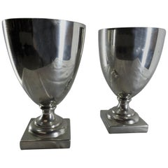 Pewter Pair of Goblets Williamsburg by Shirley