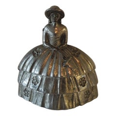 Pewter Table Bell of Infanta Margarita Teresa Juan Bautista Martine Del Mazo