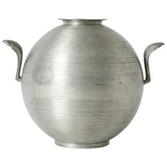 Pewter Vase by Sylvia Stave for GAB, Sweden