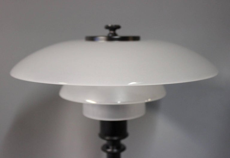 Danish PH 2/1 Table Lamp, Anniversary Model, by Poul Henningsen and Louis Poulsen For Sale