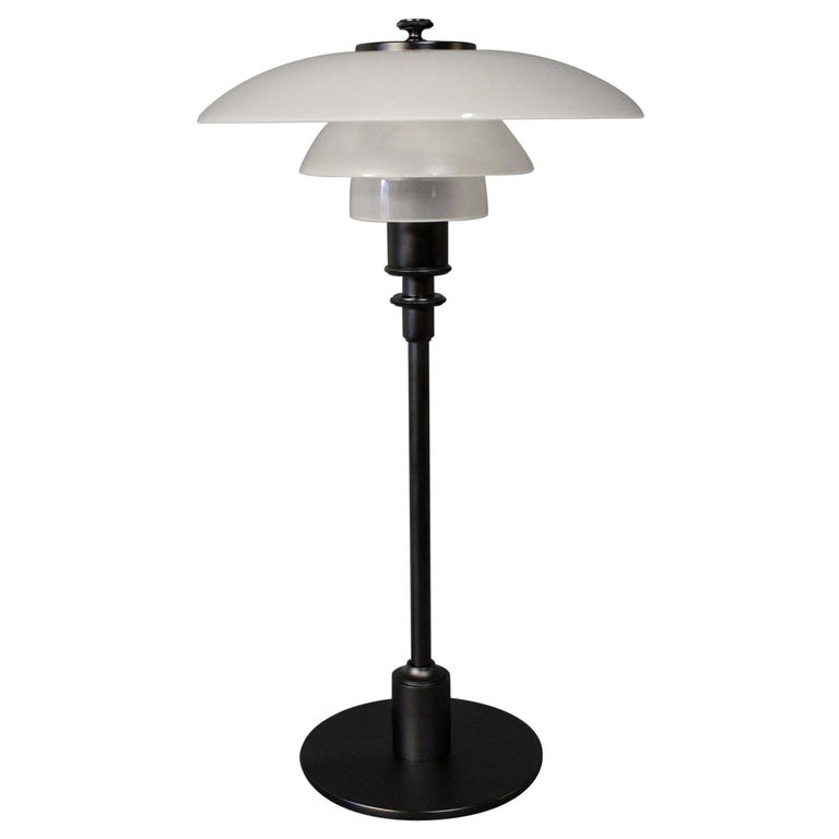 PH 2/1 Table Lamp, Anniversary Model, by Poul Henningsen and Louis Poulsen For Sale