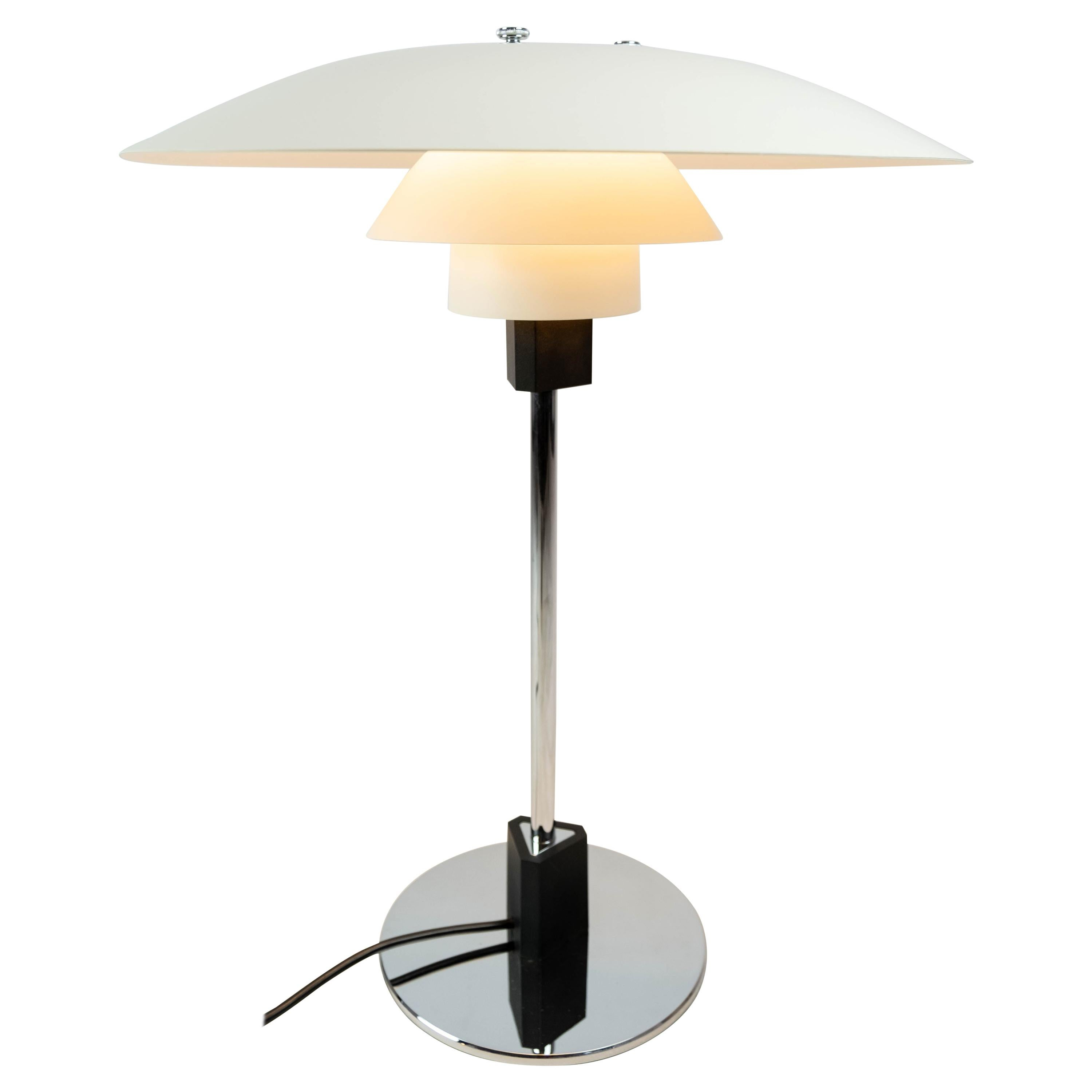PH 4/3 Table Lamp Designed by Poul Henningsen and Manufactured by Louis Poulsen