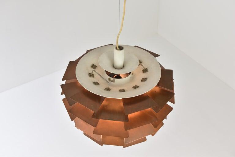 PH Artichoke Pendant by Poul Henningsen for Louis Poulsen, Denmark, 1950s For Sale 2