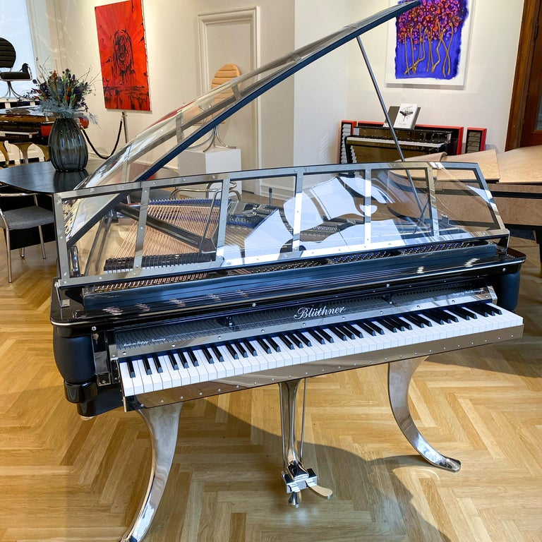 - All prices are listed ex works. - 5 year guarantee. - We regularly crate, ship and install PH Pianos worldwide with full insurance. Please contact us for individual shipping quote and for any questions.  The Poul Henningsen designed PH Grand