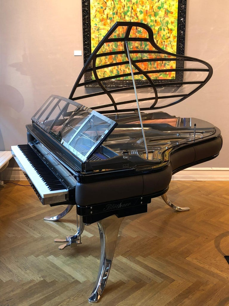 - All prices are listed ex works. - 5 year guarantee. - We regularly crate, ship and install PH Pianos worldwide with full insurance. Please contact us for individual shipping quote and for any questions.  Based on Poul Henningsen's iconic PH