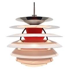 """""""Ph Kontrast"""" Ceiling Lamp by Poul Henningsen for Louis Poulsen, Designed 1962"""