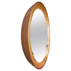PH Mirror, Copper Brushed, Diameter, On/Off Pull Cord, PH Initials
