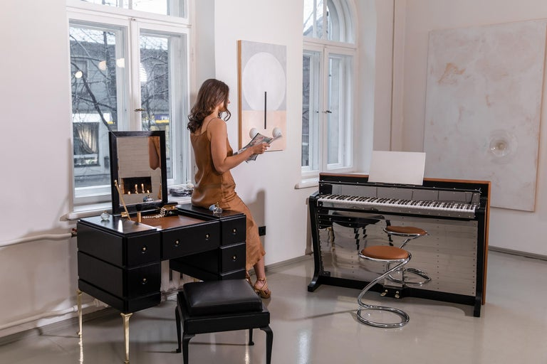 - All prices are listed ex works. - 5 year guarantee. - We regularly crate, ship and install PH Pianos worldwide with full insurance.  The PH Pianette is designed by the Danish designer Poul Henningsen in 1935 and is another piece of Danish