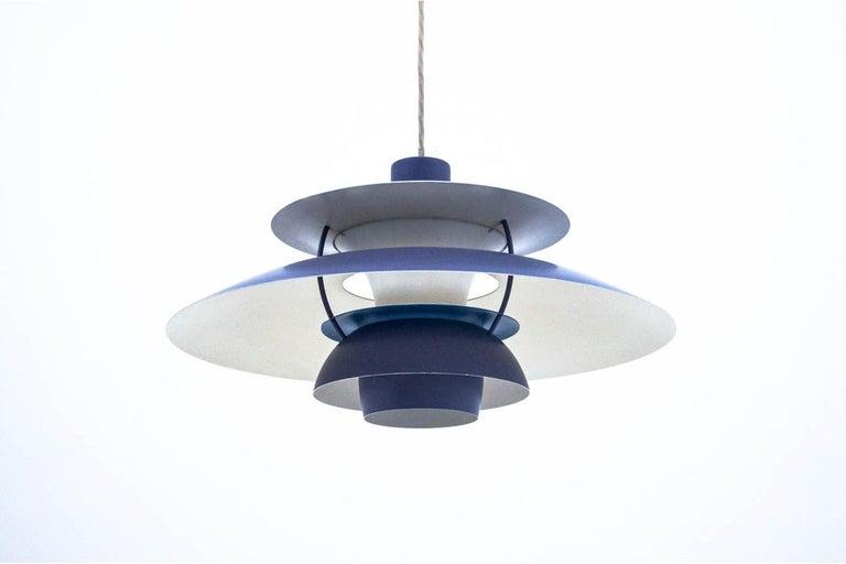 Scandinavian Modern PH5 lamp, P. Henningsen for Louis Poulsen, 1980s For Sale