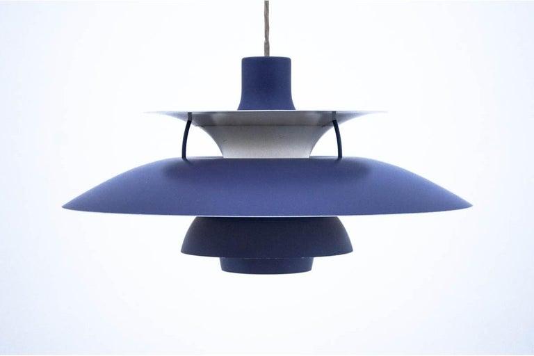 Danish PH5 lamp, P. Henningsen for Louis Poulsen, 1980s For Sale