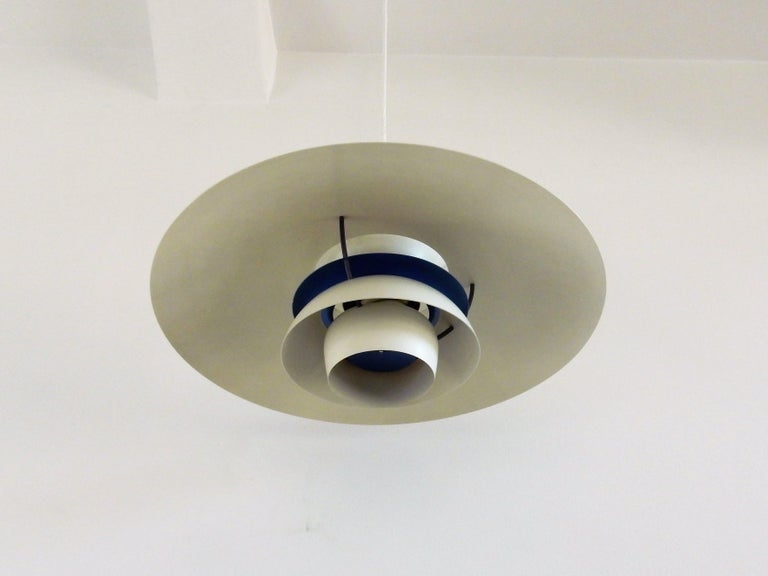 PH5 Pendant by Poul Henningsen for Louis Poulsen, Denmark, 1960s In Good Condition For Sale In Steenwijk, NL