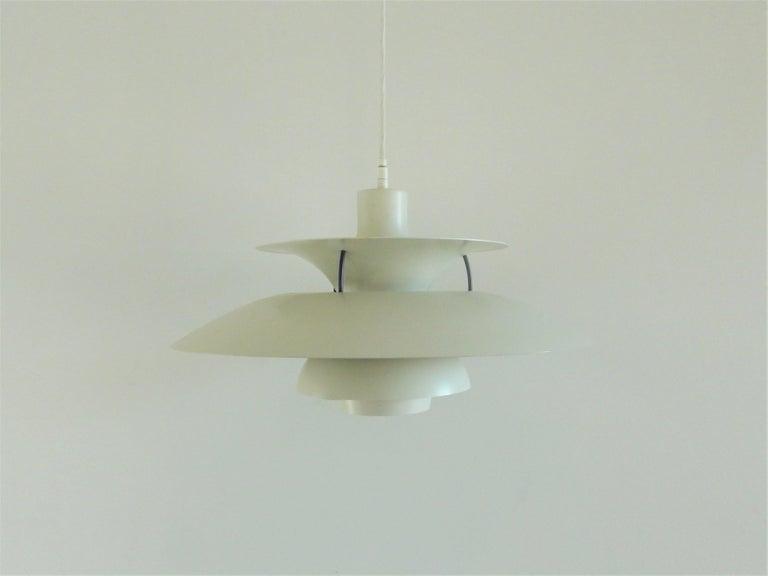 Metal PH5 Pendant by Poul Henningsen for Louis Poulsen, Denmark, 1960s For Sale
