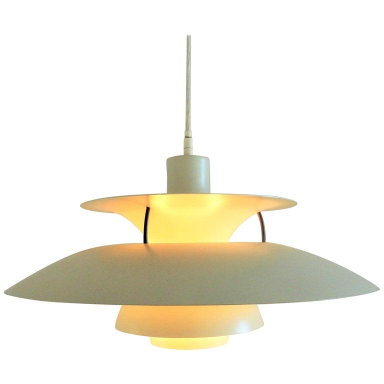 PH5 Pendant by Poul Henningsen for Louis Poulsen, Denmark, 1960s For Sale
