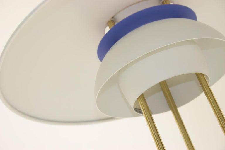 Aluminum PH5 Table Lamp by Poul Henningsen for Louis Poulsen BORDS LAMPA, PH5 For Sale