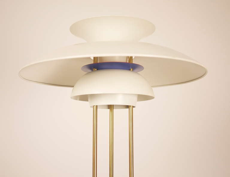 Danish PH5 Table Lamp by Poul Henningsen For Sale