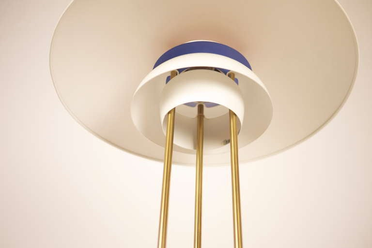 Metal PH5 Table Lamp by Poul Henningsen For Sale