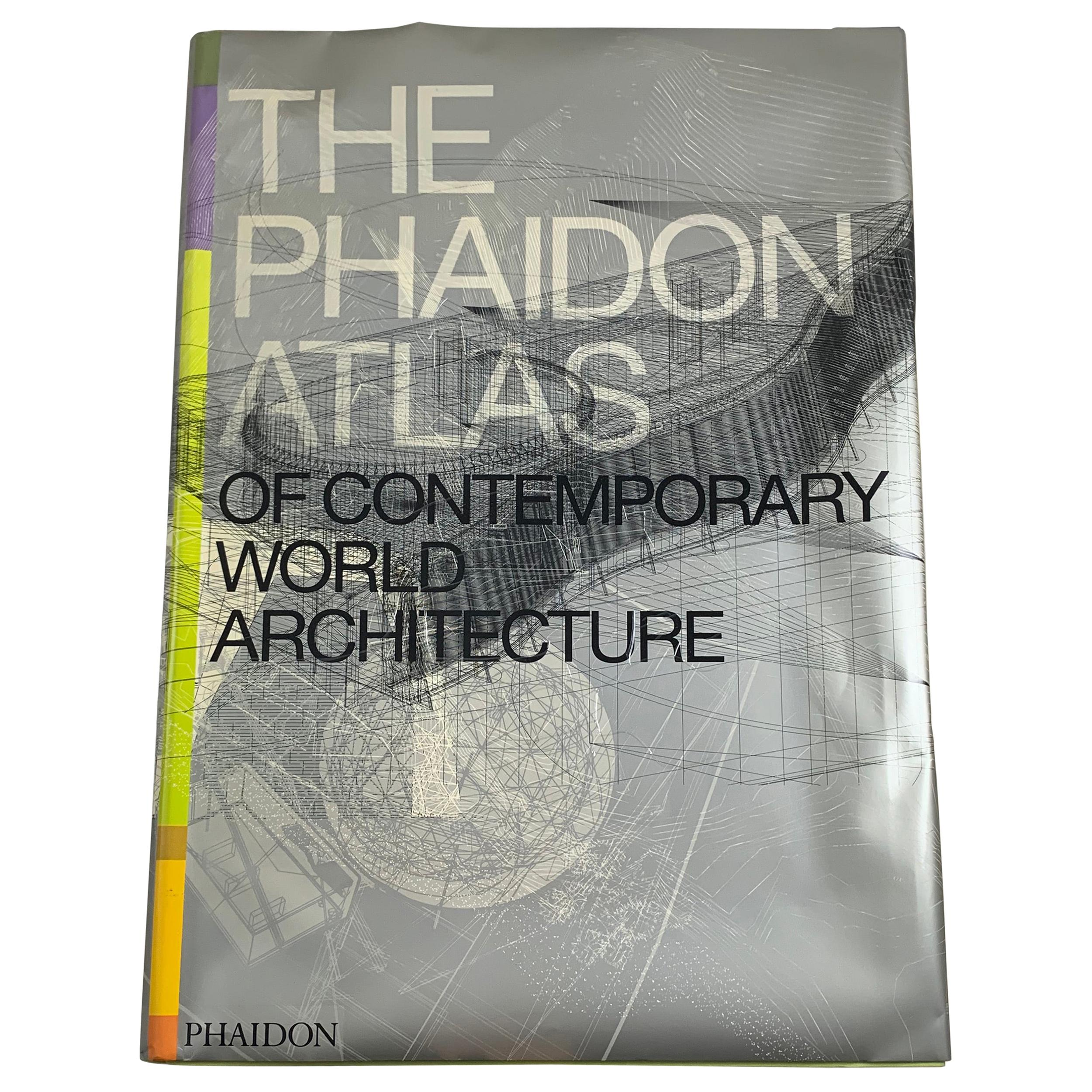 Phaidon Atlas of Contemporary Architecture, Collectible Book in Ghost Carry Case