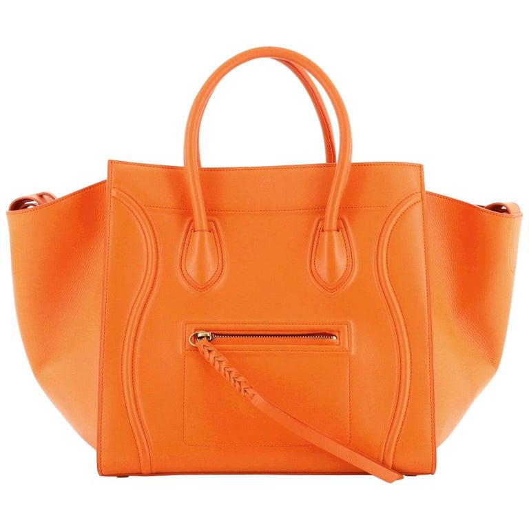 Phantom Bag Smooth Leather Medium For Sale