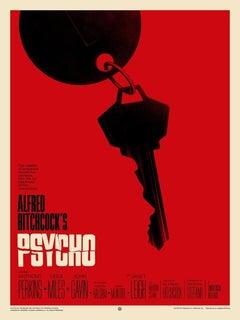 Phantom City Creative - Psycho - Contemporary Cinema Movie Film Posters