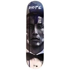 Pharrell HOPE Skate Board Wall Sculpture, 2017
