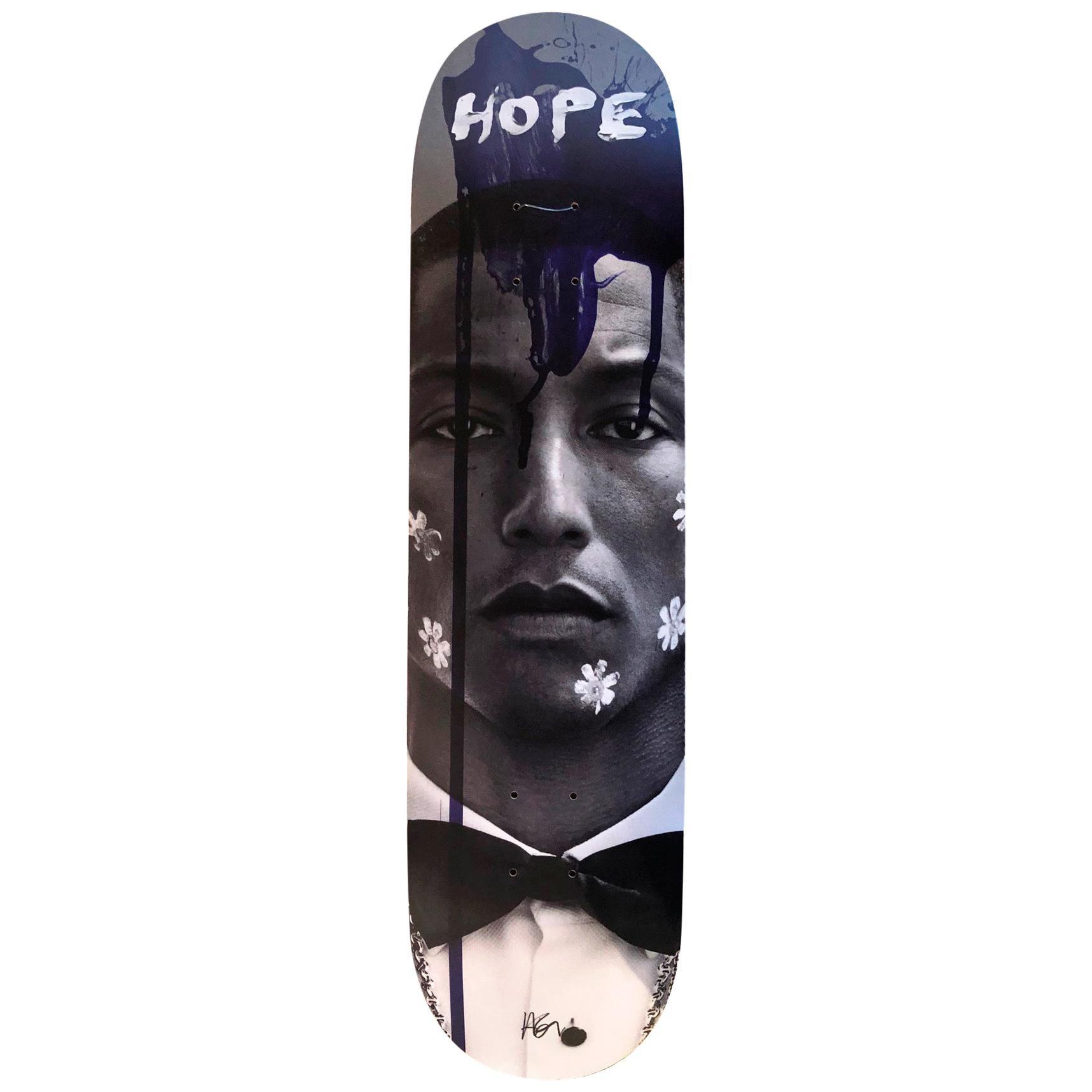 Pharrell Hope Skate Board Wall Sculpture