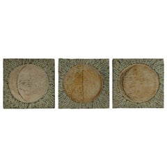 Phases of the Moon Japanese Triptych