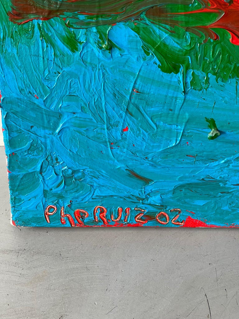 Phe Ruiz Abstract, 2002 In Good Condition For Sale In Palm Springs, CA
