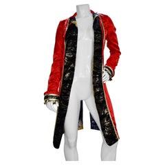 Phenomenon 2000s Red Kimono Tailcoat