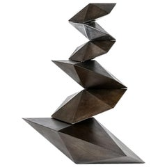 Phi, Geometric Steel Sculpture by Topher Gent
