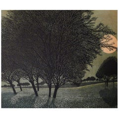 Phil Greenwood Limited Edition Etchings Primrose Moon