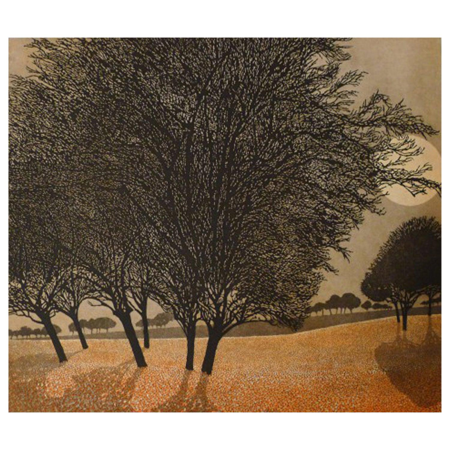 Phil Greenwood Limited Edition Etchings Primrose Morn