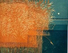Phil Greenwood, Reeds, Limited edition landscape print