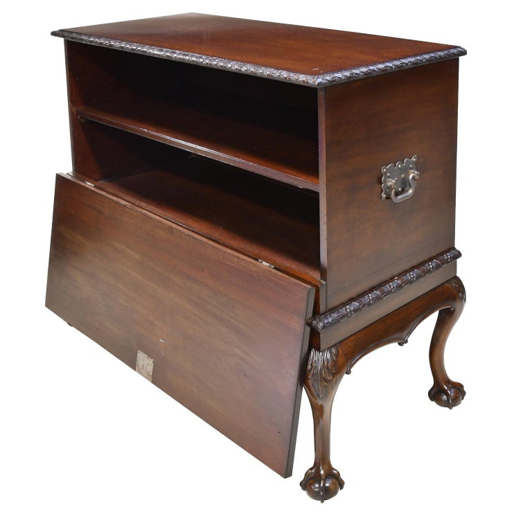 Philadelphia Centennial Mahogany Chest on Stand with Ball and Claw Feet For Sale 6