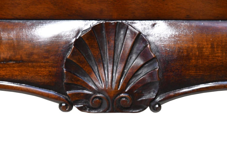 Philadelphia Centennial Mahogany Chest on Stand with Ball and Claw Feet For Sale 2
