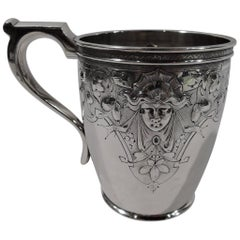 Philadelphia Classical Coin Silver Baby Cup by Krider & Biddle