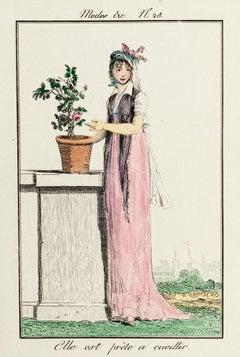 Elle Est Prête - From Modes et Manières du jour à Paris à la fin du 18e siècle..