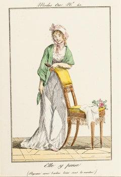 Elle y Pense - From Modes et Manières du jour à Paris à la fin du 18e siècle..