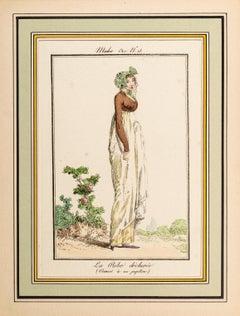 La Robe Déchirée - From Modes et Manières du jour à Paris...