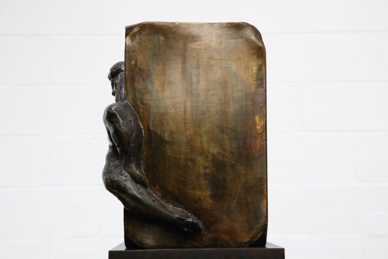 Philip and Kelvin LaVerne 'Aphrodite' Bronze Sculpture on Pedestal, 1960s Signed For Sale 9
